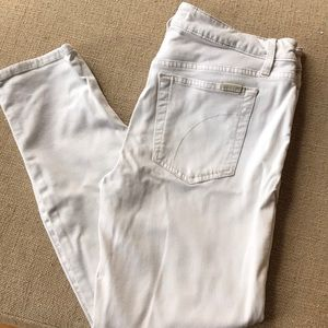Joe's Jeans Penne skinny White size 30 stretch EUC